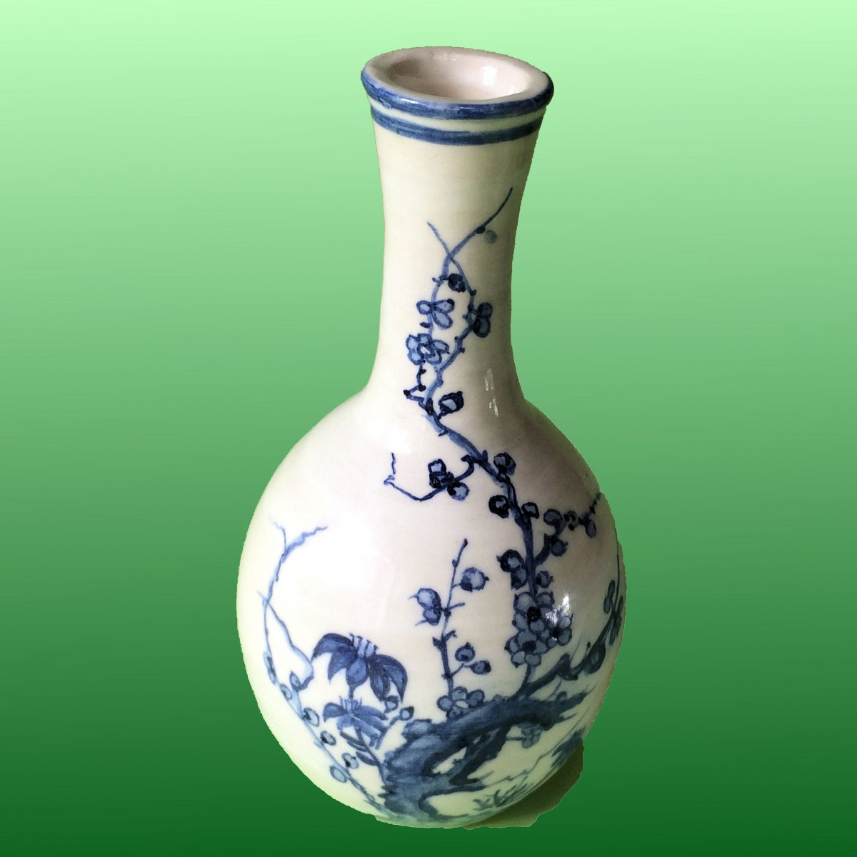 Blue and White Pottery |Under glaze painting (Sometsuke) Works Gallery